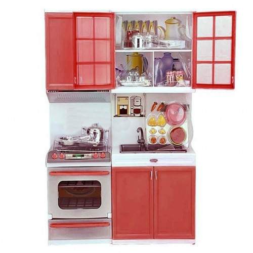 Cooking for kids playfood for Mini kitchen set for kids