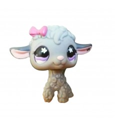 HASBRO - Littlest Pet Black Sheep Cuddliest Purple Eyes #477