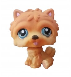 HASBRO - Littlest Pet Shop Chow Chow Dog Blue Eyes #117
