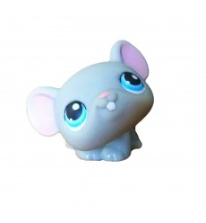 HASBRO - Littlest Pet Shop Grey Mouse Blue Eyes #104