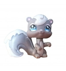 HASBRO - Littlest Pet Shop Grey Squirrel Sportiest Blue Eyes #484