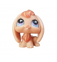 HASBRO - Littlest Pet Shop Orange Rabbit Purple Eyes #480