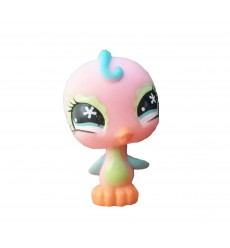 HASBRO - Littlest Pet Shop Pink Parakeet Blue Eyes #586