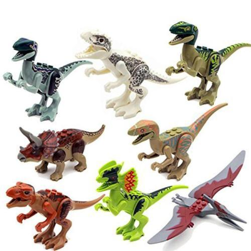 Toys Lego Dinosaur : Lego jurassic world park lot of dinosaurs rex