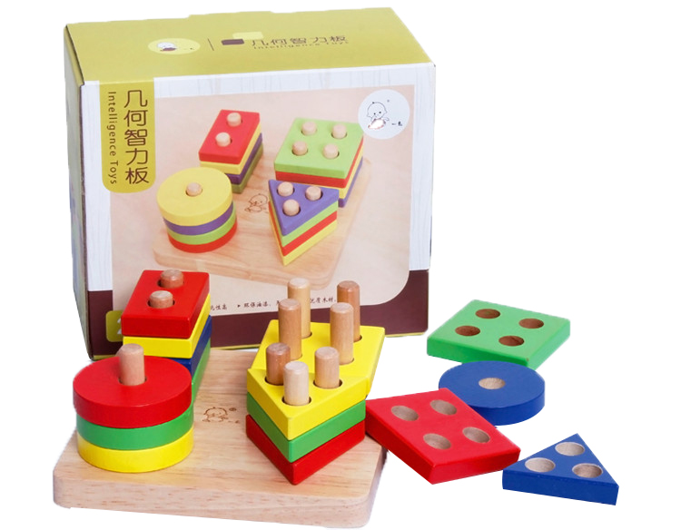 Wooden Toy Plans Catalog : Wooden jumbo blocks