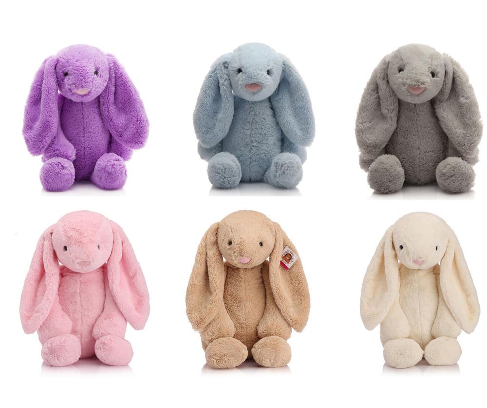 Munchkin Rabbit Cut Plush Soft Toys Brown